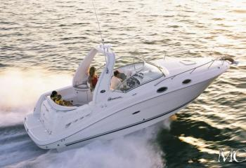 Sea Ray 275 - Sundencer - 250 KK
